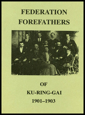 Cover shot of Federation Forefathers