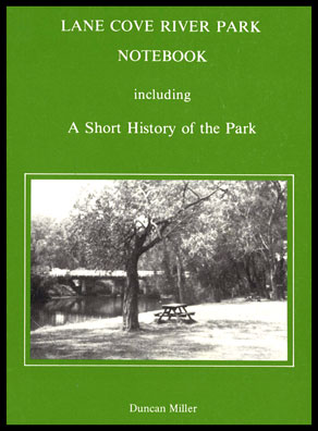 Cover shot of Lane Cove River Park Notebook