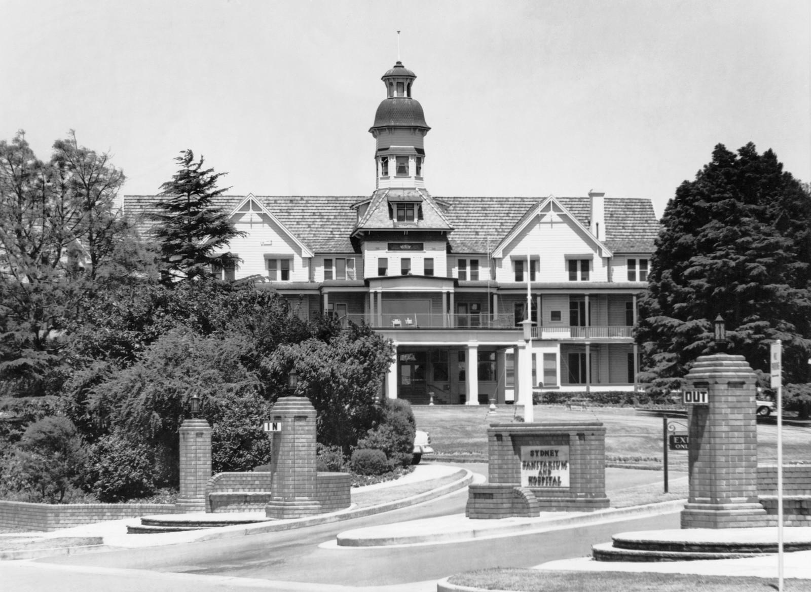 Sydney Adventist Hospital (SAN) Wahroonga, opening 1903