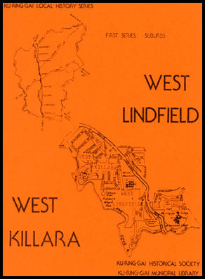 Cover shot of West Killara / West Lindfield - Local History Series